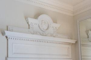 Chopin decorative overdoor