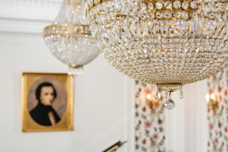 Crystal Chandelier Detail 2